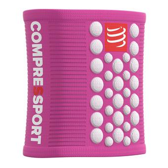 Compressport SWEAT 3D.DOTS - Sweatbands - pink/white