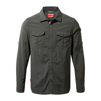 Adv LS Shirt Black Pepper Homme Black Pepper