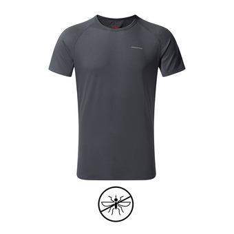 Camiseta hombre BASELAYER ombre blue