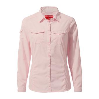 Adv LS Shirt SeashellPink Femme Seashell Pink