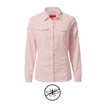 Craghoppers ADVENTURE - Chemise Femme seashell pink