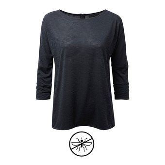 Camiseta 3/4 mujer SHELBY midnight blue