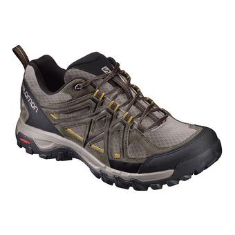Salomon EVASION 2 AERO - Chaussures randonnée Homme vintage kaki/bungee cord/honey