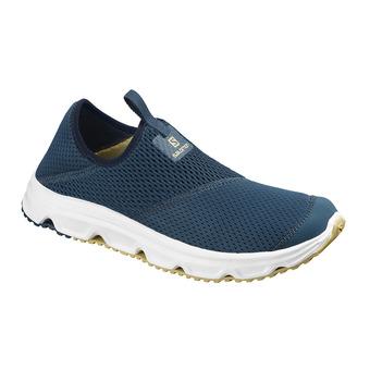 Chaussures de récupération homme RX MOC 4.0 poseidon/wht/taos taupe