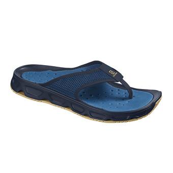 Sandalias de recuperación hombre RX BREACK 4.0 navy blazer/poseidon/taos taupe