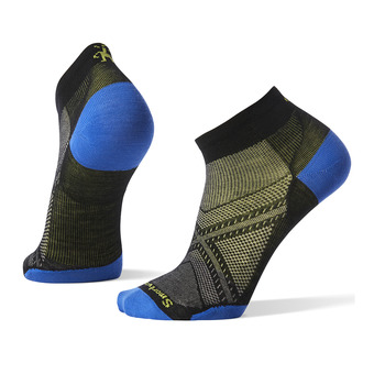 Smartwool PHD RUN ULTRA LIGHT LOW CUT - Socks - black