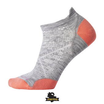 Smartwool PHD RUN ULTRA LIGHT MICRO - Calcetines mujer light gray