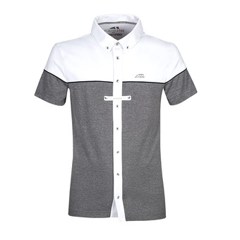 Equiline DEDALO - Chemise concours Homme melange gray