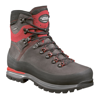 Meindl ISLAND MFS ALPIN GTX - Mountaineering Shoes - Men's - anthracite/red