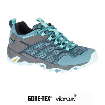 Hiking Shoes - Women's - MOAB FST 2 GTX blue smoke