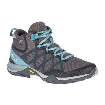 Merrell SIREN 3 MID GTX - Chaussures randonnée Femme blue smoke