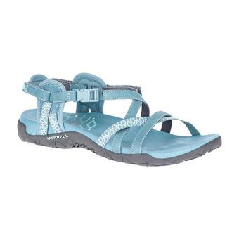 Merrell TERRAN LATTICE II - Sandals - Women's - blue smoke