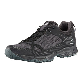 Haglofs TRAIL FUSE - Chaussures trail Homme true black/magnetite
