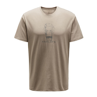 Haglofs CAMP - Camiseta hombre dune