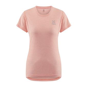 Haglofs L.I.M STIVE - Camiseta mujer coral pink