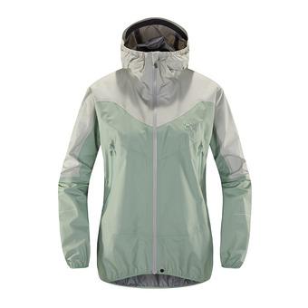 L.I.M Comp Jacket Femme Blossom green/haze