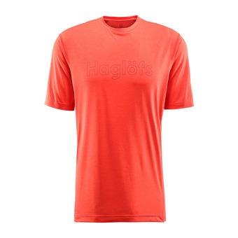 Camiseta hombre RIDGE pop red