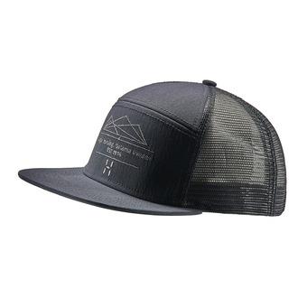 Haglofs TRUCKER - Gorra true black/slate