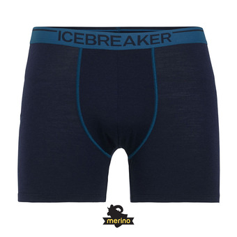 Icebreaker ANATOMICA - Boxer Homme midnight navy/prussian blue