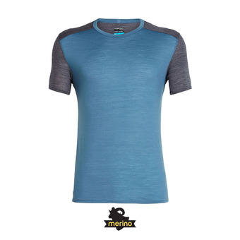 Camiseta hombre AMPLIFY CREWE thunder/panther hthr
