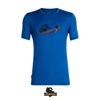 Tee-shirt MC homme CREWE CANOE COMPANIONS isle