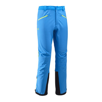 Pantalon Softshell homme TOURING SHIELD electric blue/acid green