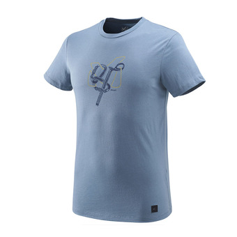 Tee-shirt ML homme GRANITOLA teal blue