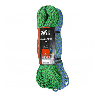 Corde à double 7.9mm/2x60m ALPINE vert/bleu