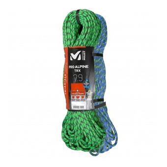 Cuerda doble 7.9mm/2x60m ALPINE verde/azul