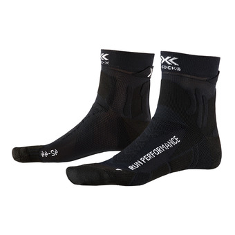 X-Socks RUN PERFORMANCE - Chaussettes noir opale