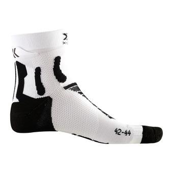 X-Socks RUN PERFORMANCE - Chaussettes noir mélangé/blanc