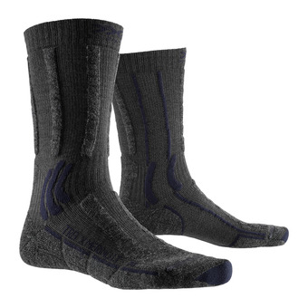 X-Socks TREK X MERINO LIGHT - Socks - anthracite
