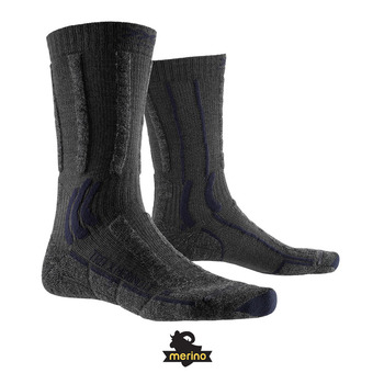 X-Socks TREK X MERINO LIGHT - Calcetines anthracite