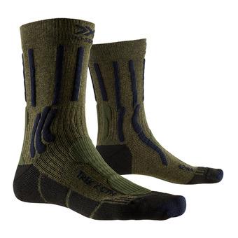 X-Socks TREK X CTN - Calze kaki scuro/blu