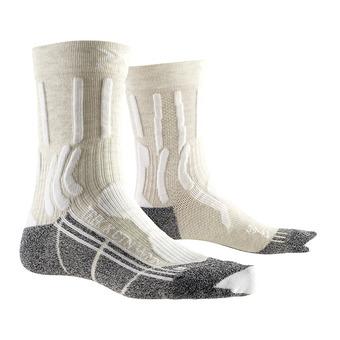X-Socks TREK X CTN - Calze Donna bianco/antracite