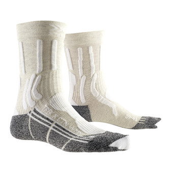X-Socks TREK X CTN - Socks - Women's - white/anthracite