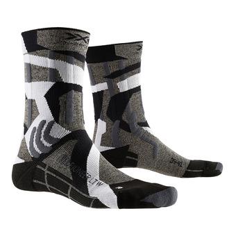 X-Socks TREK PIONEER LIGHT - Calze grigio/mimetica