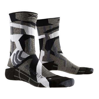 X-Socks TREK PIONEER LIGHT - Socks - grey/camo