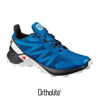 Salomon SUPERCROSS - Zapatillas trail hombre indigo bunting/black/wht