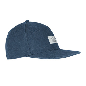 Salewa PUEZ CANVAS FLAT - Cap - dark denim