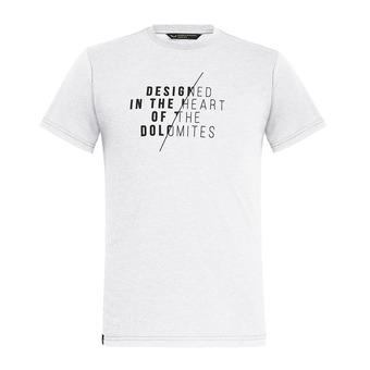 Camiseta hombre SLASH white