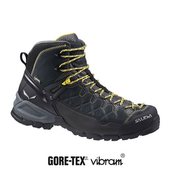 Zapatillas de senderismo hombre ALP TRAINER MID GTX carbon/ringlo