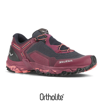 Salewa ULTRA TRAIN 2 - Zapatillas de senderismo mujer red plum/punch