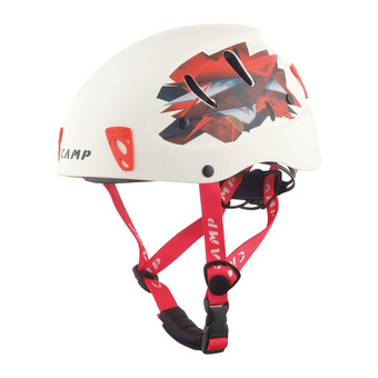 Casque alpinisme ARMOUR blanc/rouge Unisexe White/Red
