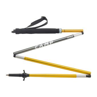 Paire de bâtons de randonnée XENON 120 cm Unisexe Yellow/Grey