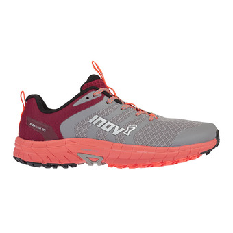 Inov 8 PARKCLAW 275 - Chaussures trail Femme grey/coral