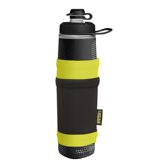 Camelbak PEAK FITNESS CHILL - Gourde 710ml + housse black/lime