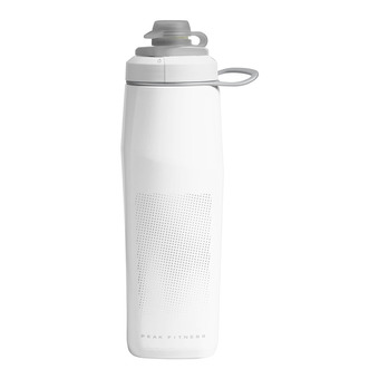 Botellín 0.75L PEAK™ FITNESS white/silver