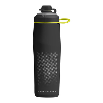 Botellín 0.75L PEAK™ FITNESS black/silver