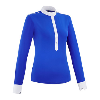 Horse Pilot AEROLIGHT - Show Polo Shirt - Women's - royal